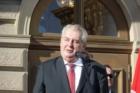 Prezident Zeman v Opavě
